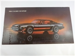 1980 Camaro Z28 Dealership Showroom Poster Print, GM NOS