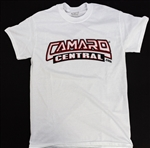 Camaro Central T-Shirts, Limited Edition White Tees