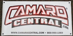 NEW Camaro Central Banner, 2' X 4'