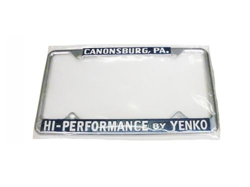 License Plate Frame, Yenko Hi Performance