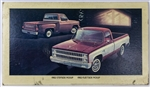 1982 Chevrolet Pickups Dealership Showroom Sign Poster Print, GM Original
