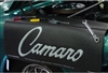Camaro Script Logo Fender Gripper Cover Mat is now on SALE!