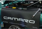 Camaro Logo Fender Gripper Cover Mat is now on SALE!
