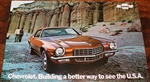 1972 Camaro GM Dealership Showroom Poster, 2 Sided NOS GM
