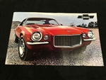 1971 Camaro GM Dealership Showroom Poster, 2 Sided NOS GM