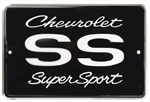 Chevy SS Super Sport Parking Metal Tin Sign