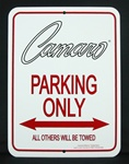 Sign, Camaro Parking Only