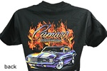 "T-Shirt, 1969, ""Camaro Rally Sport Z/28 with Flames"""