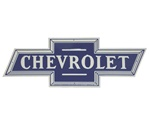 Chevrolet Bowtie Metal Tin Sign