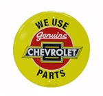 Sign, Metal, We Use Genuine Chevrolet Parts