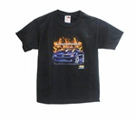 T-Shirt, 2010 Camaro With Flames, Youth