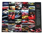 2002 Camaro SS 35th Anniversary Poster, GM NOS