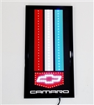 Camaro LED Wall Sign with Bowtie