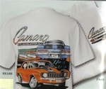 "T-Shirt, 1969 ""Camaro by Chevrolet"" with Z/28 and Super Sport"