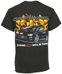 Fourth Gen Camaro T-Shirt with Flames