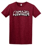 Camaro Central Softstyle T-Shirt, Limited Edition Antique Cherry Red