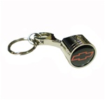 Key Chain, Red Bowtie Piston