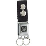 Genuine Chevrolet Seatbelt Keychain