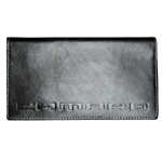 Checkbook Cover, Camaro Black Leather