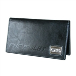 Checkbook Cover, Chevrolet SS Black Leather