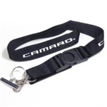 Key Chain, Camaro Badge with Lanyard