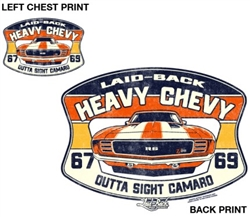 Outta Sight Heavy Chevy 69 Camaro T-Shirt