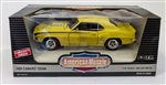 1969 Camaro Super Sport 396 SS Die-Cast Metal Model Car, 1:18 Scale NOS