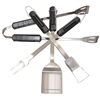 Camaro BBQ Tool Gift Set, 4 Piece Barbecue Set