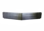 1985 - 1992 Camaro Billet Aluminum Grille Overlay, Polished Face with Black Inner Details