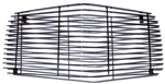 1970 - 1973 Camaro Billet Aluminum Standard Grille, All Black