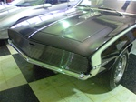 1969 Camaro Billet Aluminum Grille Replacement, Polished Face with Black Inner Details