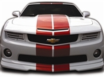 2010 - 2013 Camaro Headlight Covers, Hideaway Rally Sport Style, Painted