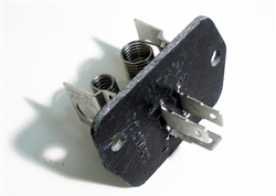 1967 - 1968 Camaro Heater Box Blower Resistor Assembly with Air Conditioning