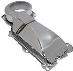 1967 - 1981 Camaro Heater Box Firewall Cover, Small Block without Air Conditioning, Chrome