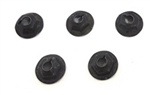 1967 - 1981 Heater Box Firewall Cover Mounting Nuts Set, 5 Pieces