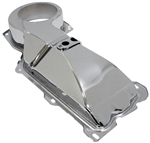 1967 - 1981 Chrome Heater Core Cover Box at Firewall for Big Block W/O AC