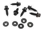 1968 Heater Control Cable Mounting Hardware Set