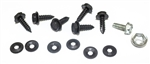 1969 Heater Control Cable Mounting Hardware Set
