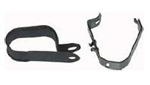 1969 - 1974 Heater Hose Brackets Set, Inner Fender Clip and Alternator Clip