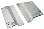 1967-1968 AC Condenser Mount Brackets Set, USA