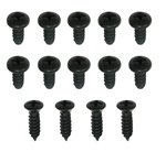 1967 - 1969 Camaro Rocker Moldings Screws Set, 14 Pieces