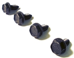 1967 - 1981 Fender to Radiator Support Brace Bolts Set, 4 Pieces