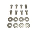 1967 - 1981 Hood Hinge Mounting Bolts Set, Stainless Steel, Indented Hex Head