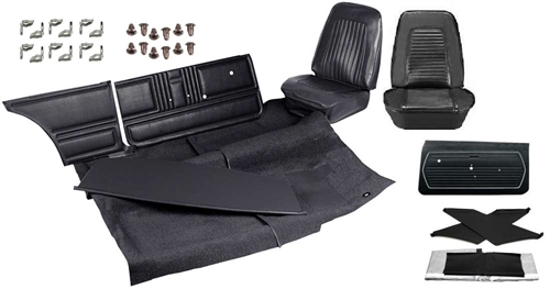 1967 1969 Camaro Standard Interior Kit For Coupe Stage 1 Basic
