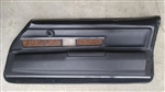 1970 - 1971 Camaro Deluxe Interior Woodgrain Door Panel, RH GM Used