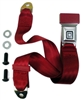 "1967 - 2002, 2010 - 2013 Seat Belt Replacement Lap 2 pt. Each, ""GM Mark of Excellence"" Button and Stainless Steel Buckle, Colors"