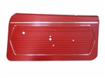1969 Camaro Front Door Panels Set, Standard Interior Pre-Assembled Pair