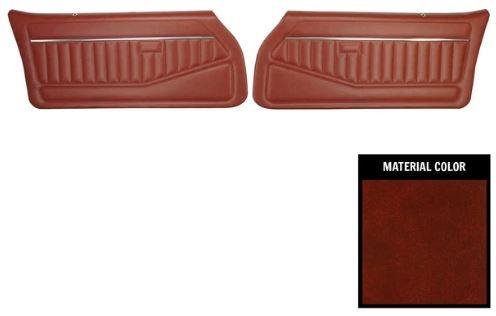 1978 1981 Camaro Front Door Panels Set Standard Interior Pre