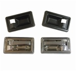 1970 - 1974 Camaro Standard Interior Door Handles and Cups Set