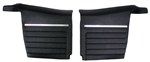 1968 Camaro Rear Side Panels Set, Standard Interior Convertible, Pre-Assembled Pair